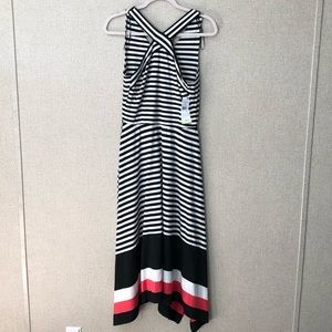 Signature by Robbie B black and white dress NWT
